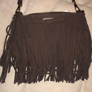 rebecca minkoff dark brown crossbody bag